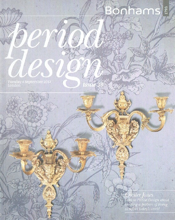 Bonhams September 2012 Period Design
