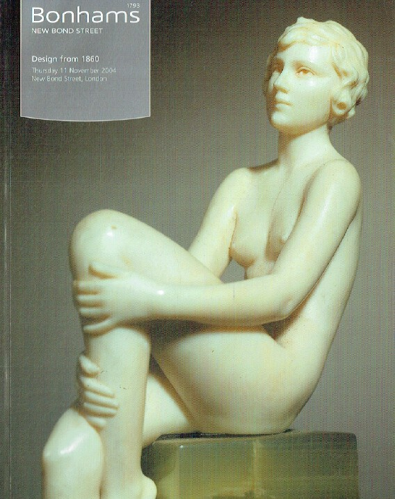 Bonhams November 2004 Design from 1860