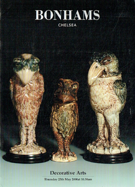 Bonhams May 2000 Decorative Arts