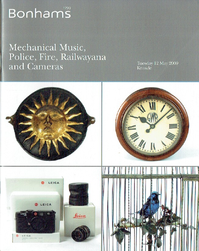 Bonhams March 2004 Mechanical Music, Railwayana & Cameras