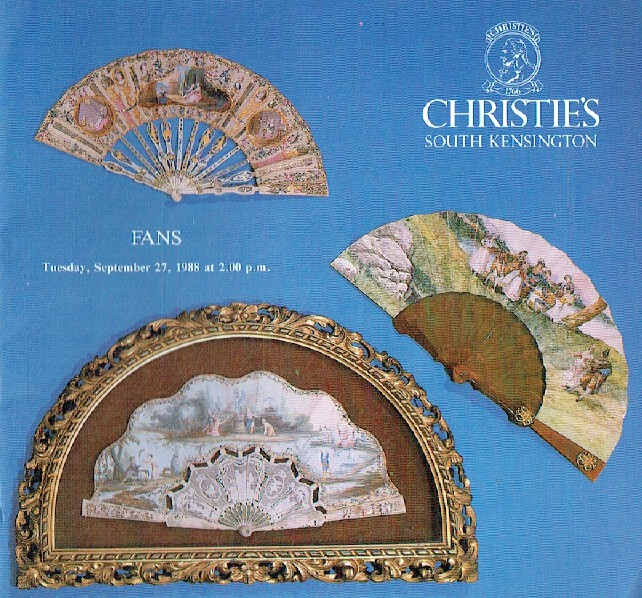 Christies September 1988 Fans