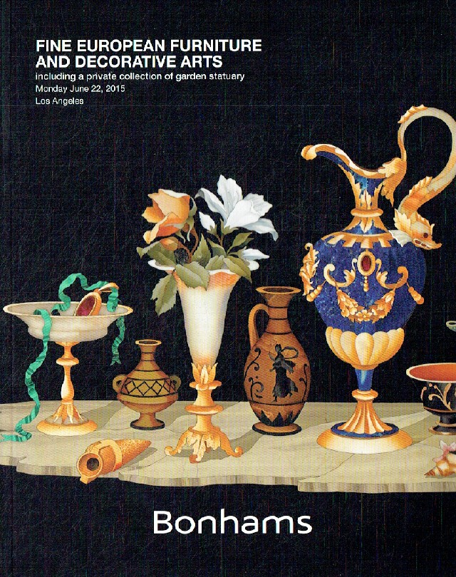 Bonhams June 2015 Fine European Furniture & Decorative Arts, inc. Garden Statuar