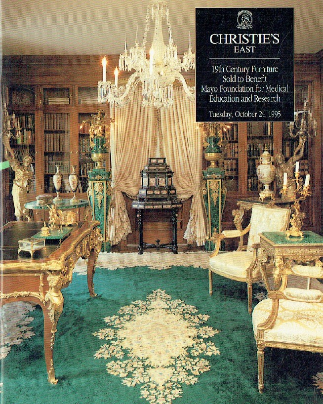 Christies October 1995 19th Century Furniture Sold To Benefit Mayo Foundation Fo