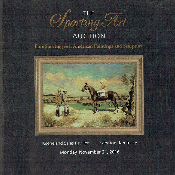 Keeneland/Cross Gate Gallery November 2016 Sporting Art Auction