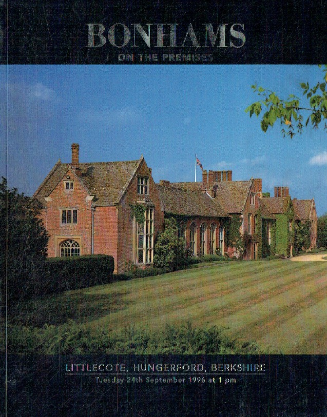 Bonhams September 1996 Littlecote, Hungerford, Berkshire