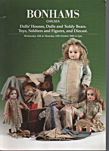 Bonhams 2000 Dolls Houses, Dolls, Teddy Bears, Toys etc