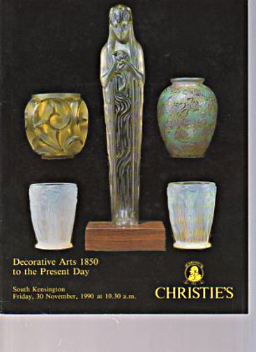 Christies 1990 British Decorative Arts 1850 Present Day