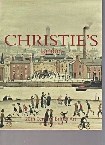 Christies June 2001 20th Century British Art
