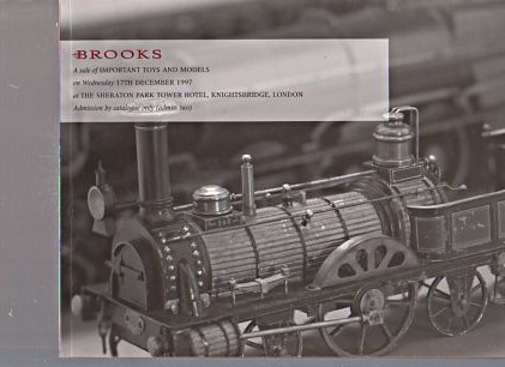 Brooks 1997 Important Toys and Models