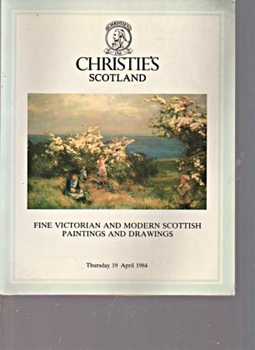 Christies 1984 Victorian & Modern Scottish Paintings