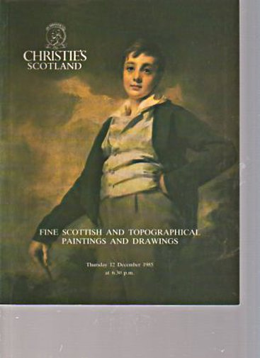 Christies 1985 Fine Scottish Paintings & Drawings