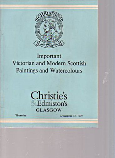 Christies 1979 Important Victorian & Scottish Paintings