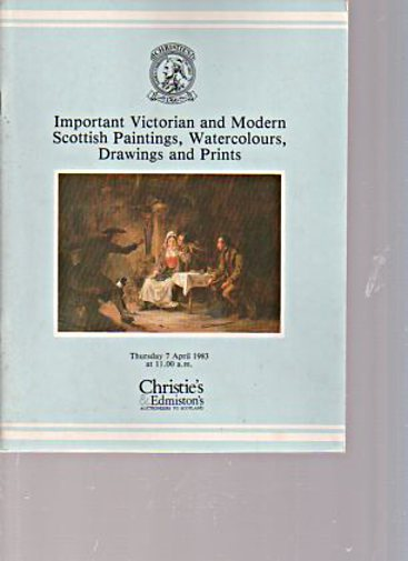 Christies 1983 Important Victorian & Scottish Paintings