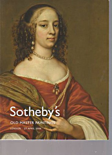 Sothebys April 2006 Old Master Paintings
