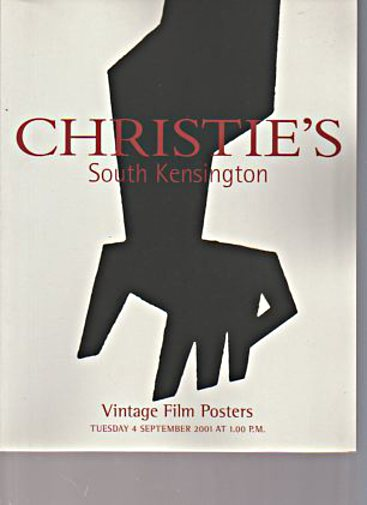 Christies 2001 Vintage Film Posters