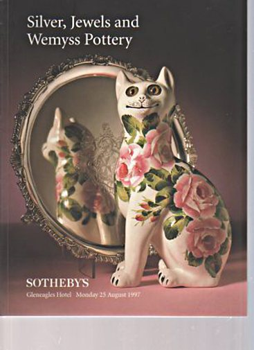 Sothebys 1997 Silver, Jewels and Wemyss Pottery
