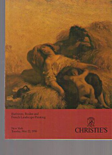 Christies 1990 Barbizon, Realist & French Landscape Painting
