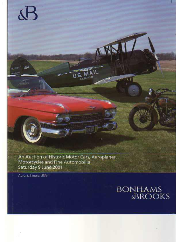 Bonhams & Brooks 2001 Historic Motor Cars, Aeroplanes, & Bikes