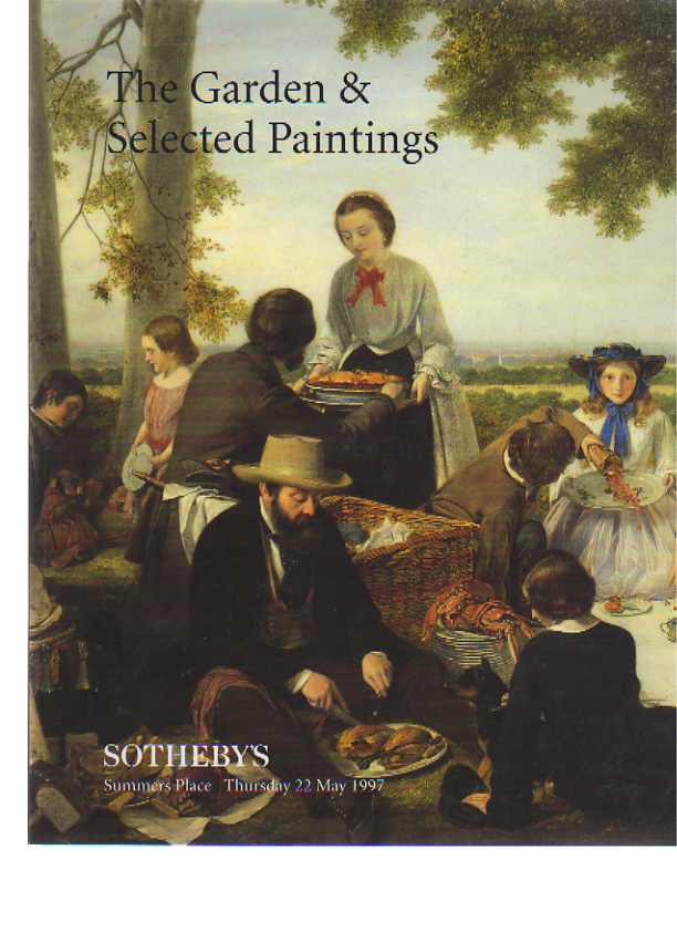 Sothebys 1997 The Garden & Selected Paintings