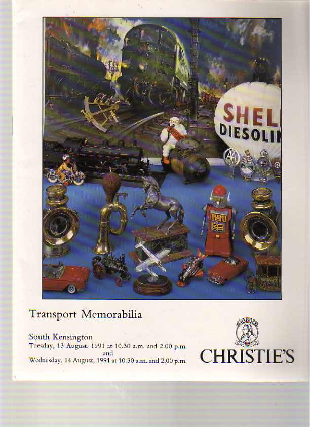 Christies 1991 Transport Memorabilia