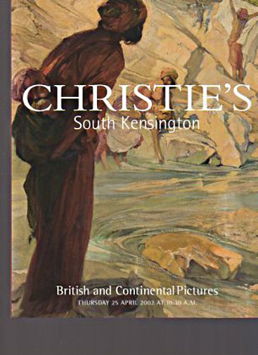 Christies 2002 British and Continental Pictures