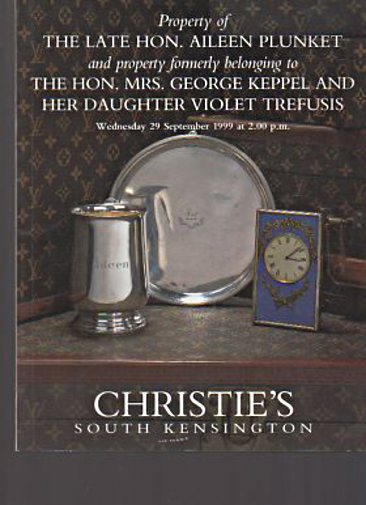 Christies 1999 Keppel & Trefusis Collection