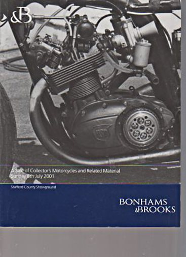 Bonhams & Brooks 2001 Collectors Motorcycles & Related Material