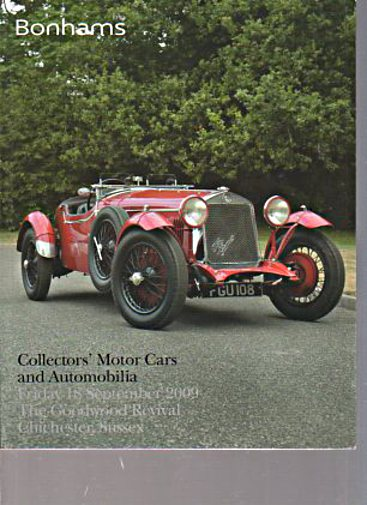 Bonhams September 2009 Collectors' Motor Cars & Automobilia