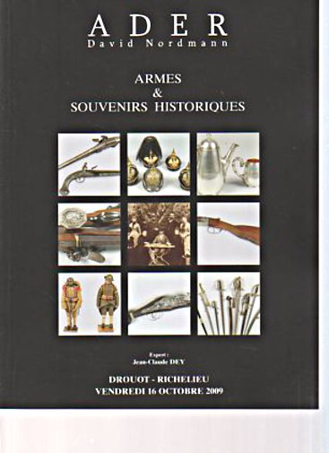 Ader/Nordmann 2009 Antique Arms & Memorabilia
