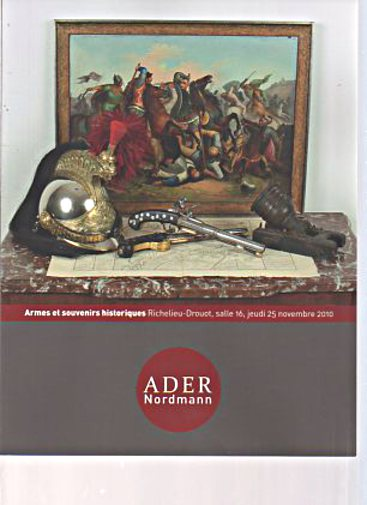 Ader/Nordmann 2010 Antique Arms & Memorabilia