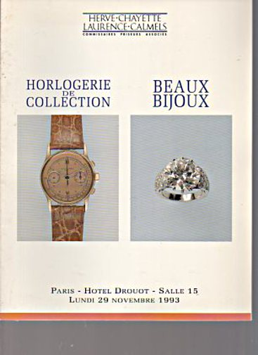 Drouot 1993 Collection of Watches & Jewellery
