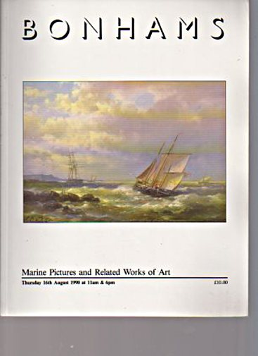 Bonhams 1990 Marine Pictures & Related Works of Art