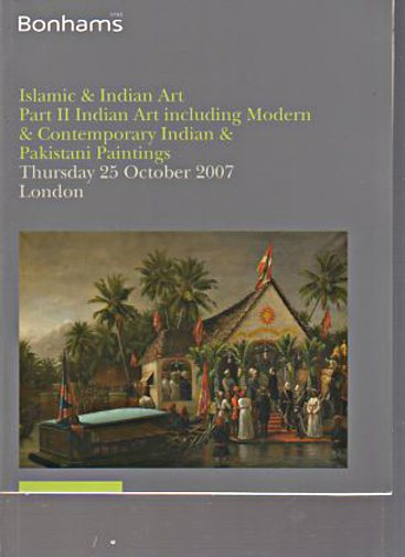Bonhams 2007 Islamic & Indian Art, Modern, Contemporary Art