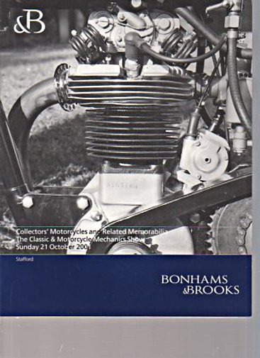 Bonham & Brooks 2001 Collectors Motorcycles etc