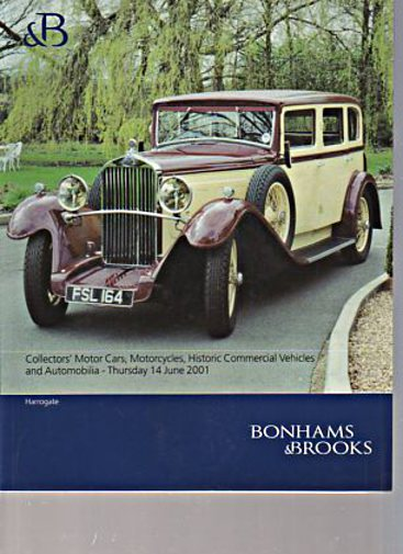 Bonhams & Brooks 2001 Collectors Motor Cars, Historic Vehicles