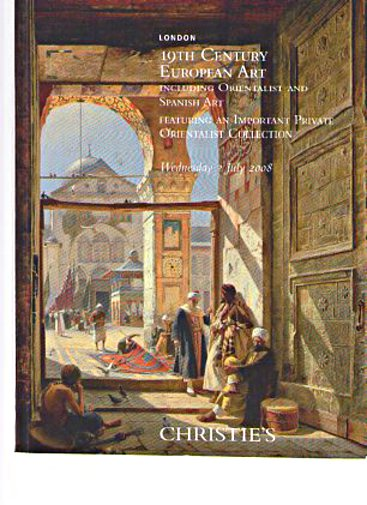 Christies 2008 19th Century European Art Orientalist, Spanish