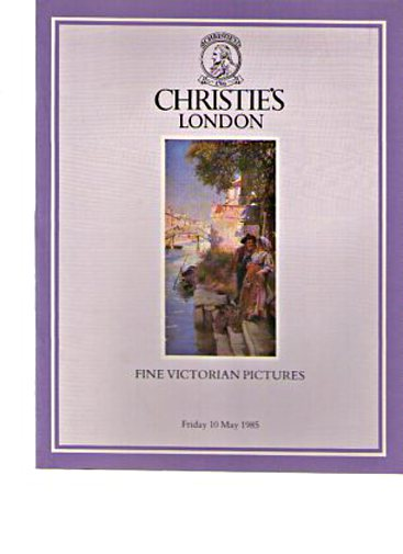 Christies May 1985 Fine Victorian Pictures