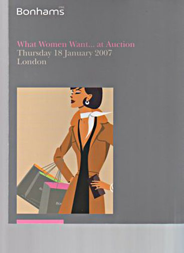 "Bonhams 2007 ""What Women Want ... at Auction"""
