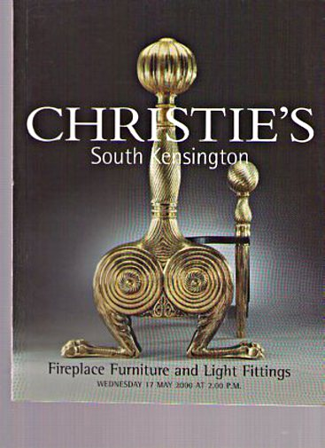 Christies 2000 Fireplace Furniture, Light Fittings