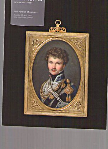Bonhams 2005 Fine Portrait Miniatures