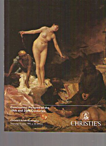 Christies 1995 19th & 20th Century Continental Pictures