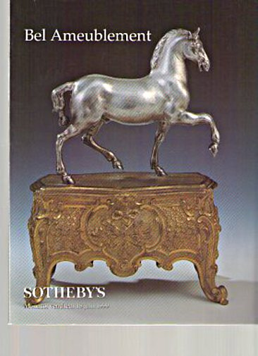 Sothebys 1999 Fine French Furniture