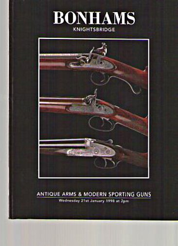 Bonhams 1998 Antique Arms & Modern Sporting Guns