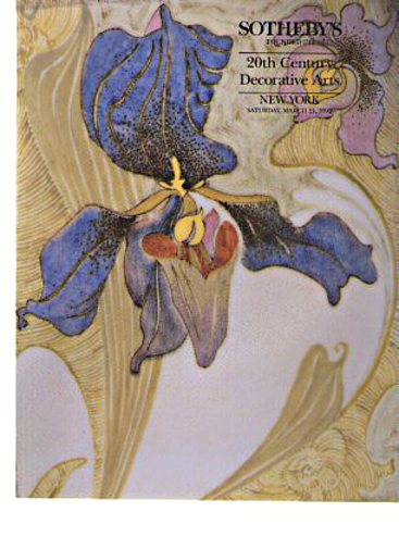 Sothebys 1992 20th C Decorative Works of Art (Art Deco)
