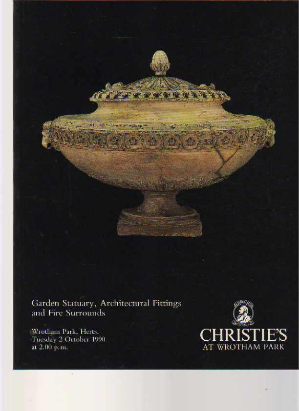 Christies 1990 Garden Statuary, Architectural Fittings
