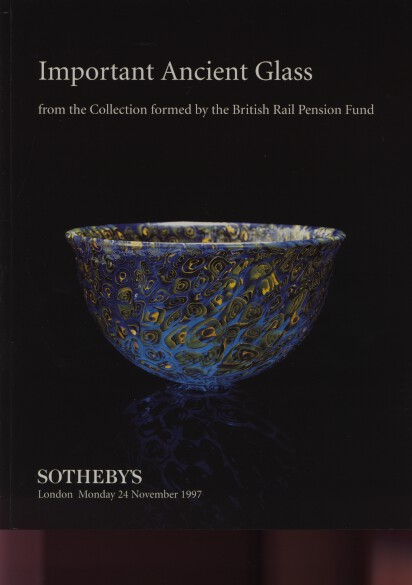 Sothebys 1997 Important Ancient Glass
