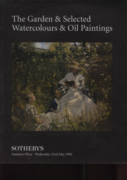 Sothebys 1996 Garden & Selected Watercolours Oil Paintings