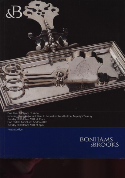 Bonhams & Brooks 2001 Silver, Portrait Miniatures, Silhouettes