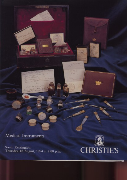 Christies 1994 Medical Instruments