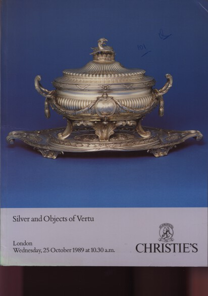 Christies 1989 Silver and Objects of Vertu